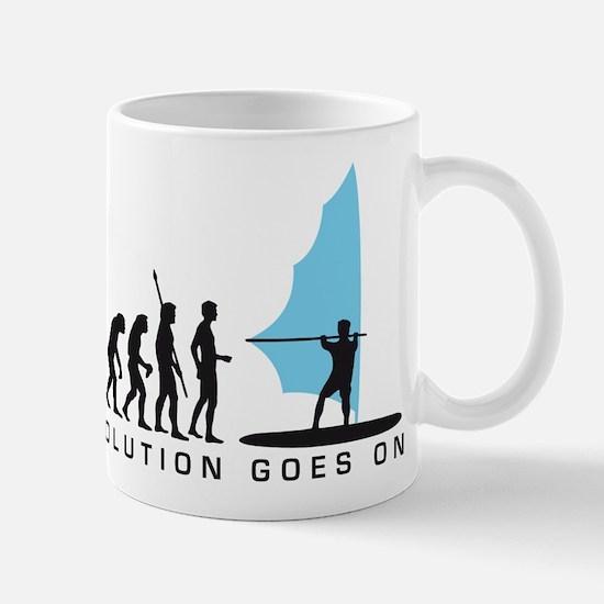 evolution windsurfer Mug