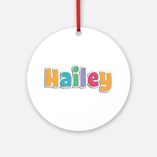 Hailey Spring11 Round Ornament