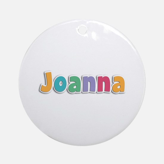 Joanna Spring11 Round Ornament
