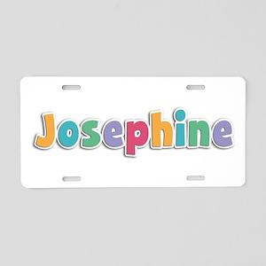 Josephine Spring11 Aluminum License Plate