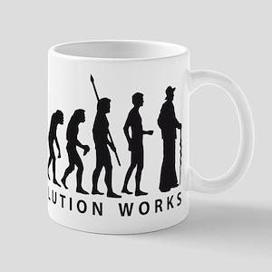 evolution carpenter Mug