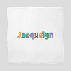 Jacquelyn Spring11 Queen Duvet