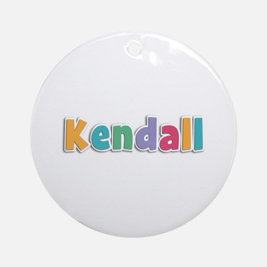 Kendall Spring11 Round Ornament