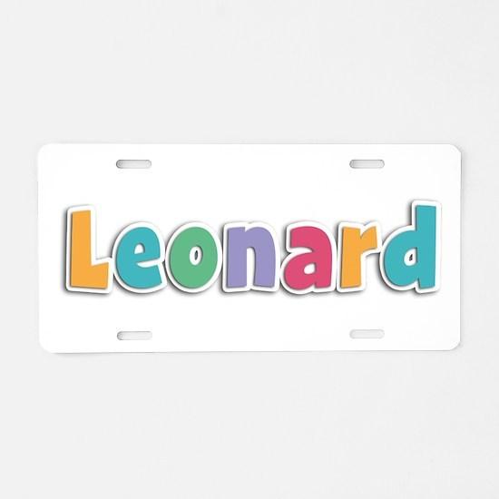 Leonard Spring11 Aluminum License Plate
