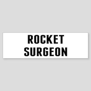 Rocket Surgeon Sticker (Bumper)