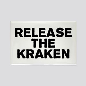Release Kraken Rectangle Magnet