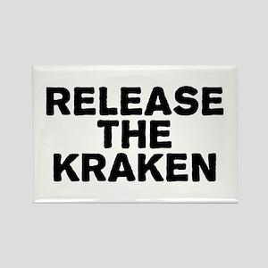 Release Kraken Rectangle Magnet