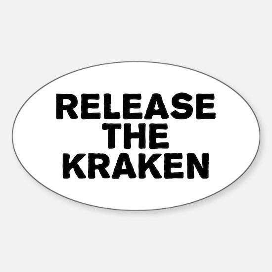 Release Kraken Sticker (Oval)
