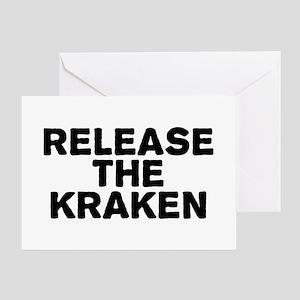 Release Kraken Greeting Card