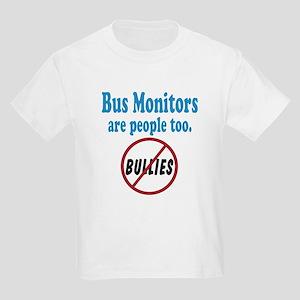 No Bullying Bus Monitors Kids Light T-Shirt