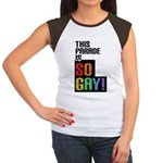 This Parade is So Gay! Women's Cap Sleeve T-Shirt