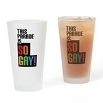 This Parade is So Gay! Drinking Glass