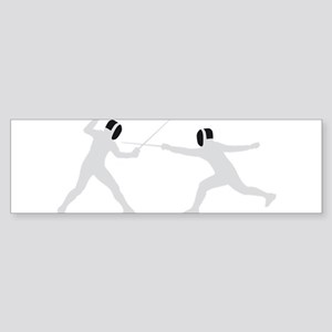 fencing Sticker (Bumper)