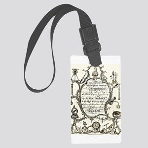 Mathematical Instruments Large Luggage Tag