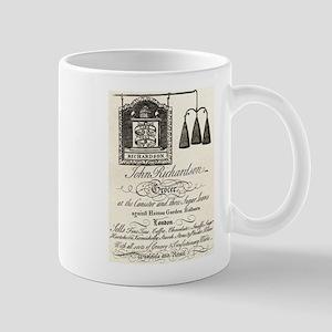 Antique Grocer Ad Mug