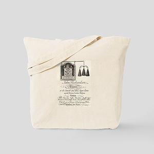 Antique Grocer Ad Tote Bag