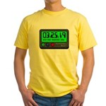 Personal Best Time Athlete's Yellow T-Shirt