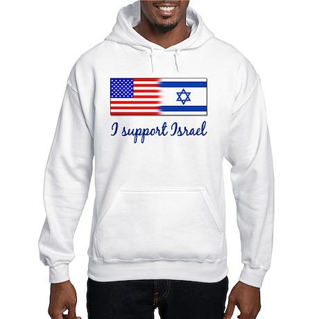 I Support Israel Hooded Sweatshirt