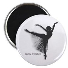 Poetry of Motion Locker Magnet