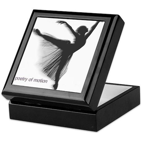 Poetry of Motion Keepsake Box
