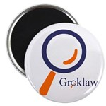 Groklaw logo Magnet