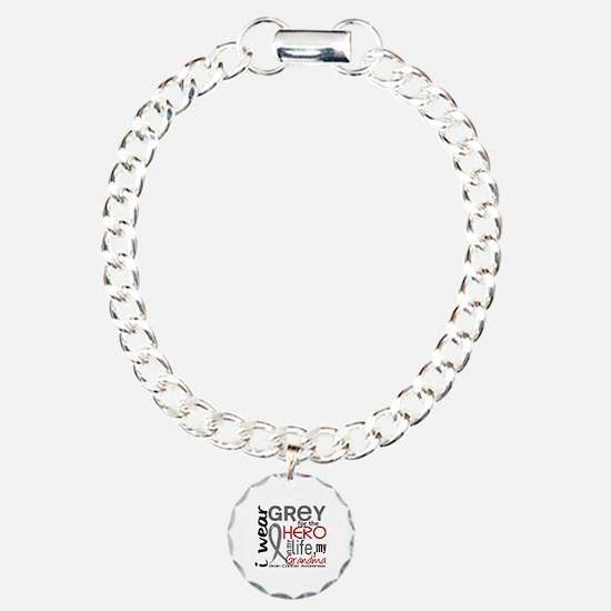 Hero in Life 2 Brain Cancer Bracelet