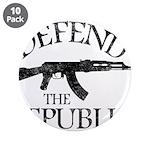 DEFEND THE REPUBLIC (black ink) 3.5