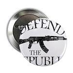 DEFEND THE REPUBLIC (black ink) 2.25