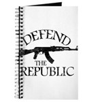 DEFEND THE REPUBLIC (black ink) Journal