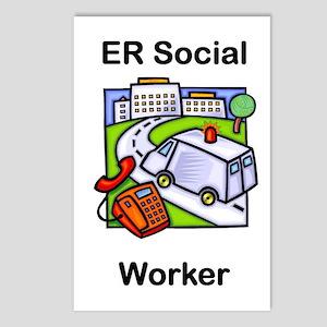 ER Social Worker Postcards (Package of 8)