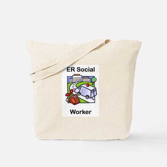 ER Social Worker Tote Bag