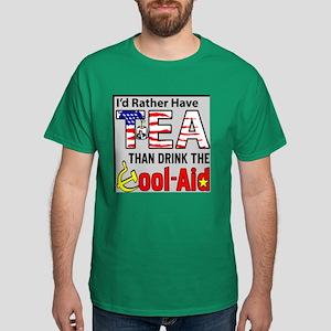 """I'd Rather Have Tea!"" Dark T-Shirt"