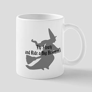 Fly Slowly Witch Mug