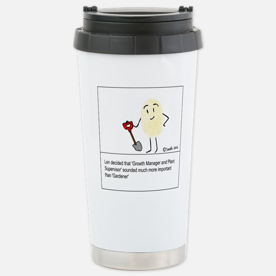That Sounds Better! Stainless Steel Travel Mug