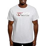 NB_Swedish Vallhund Ash Grey T-Shirt