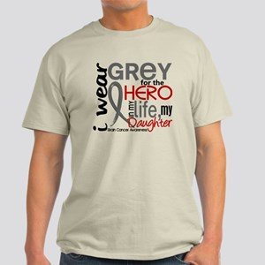 Hero in Life 2 Brain Cancer Light T-Shirt