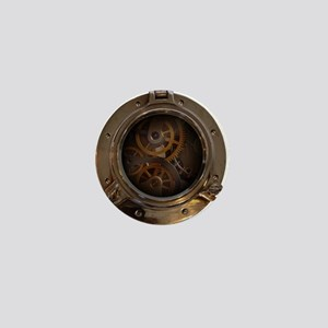 Porthole - Clockwork Mini Button