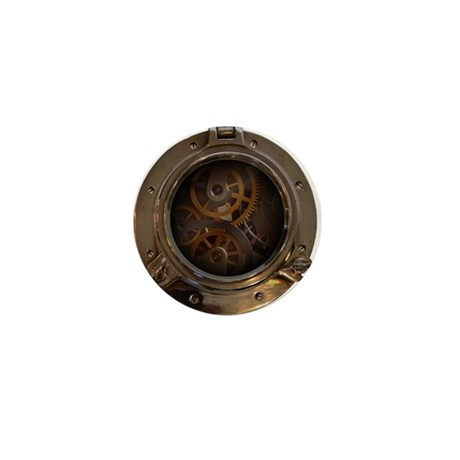 Porthole - Clockwork Mini Button