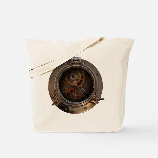 Porthole - Clockwork Tote Bag