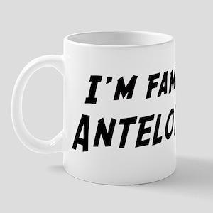 Famous in Antelope Mug