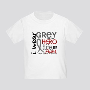 Hero in Life 2 Brain Cancer Toddler T-Shirt