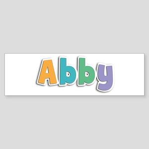 Abby Spring11 Bumper Sticker