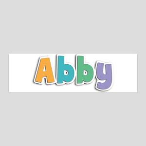 Abby Spring11 42x14 Wall Peel