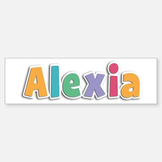 Alexia Spring11 Bumper Car Car Sticker