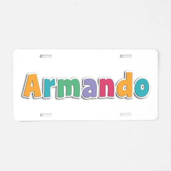 Armando Spring11 Aluminum License Plate