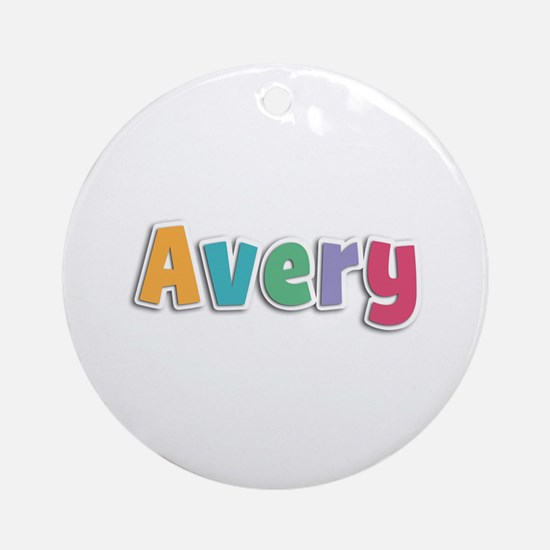 Avery Spring11 Round Ornament
