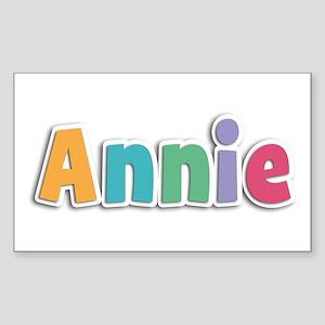 Annie Spring11 Rectangle Sticker