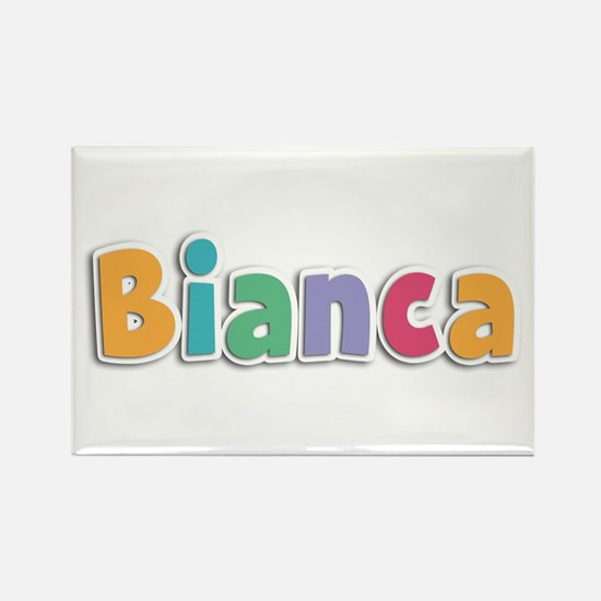 Bianca Spring11 Rectangle Magnet