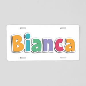Bianca Spring11 Aluminum License Plate