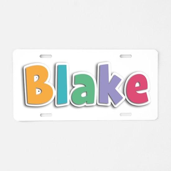 Blake Spring11 Aluminum License Plate
